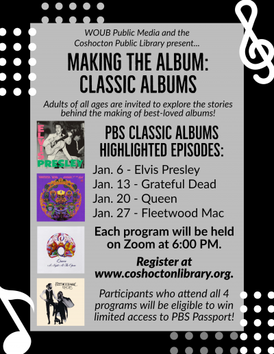 Making the Album: Classic Albums Flyer