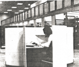 1974 library moves to former post office building