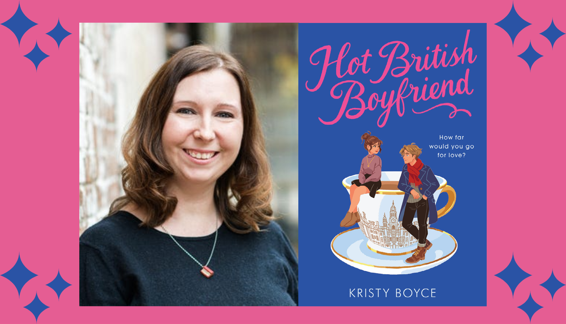 Kristy Boyce, author or Hot British Boyfriend